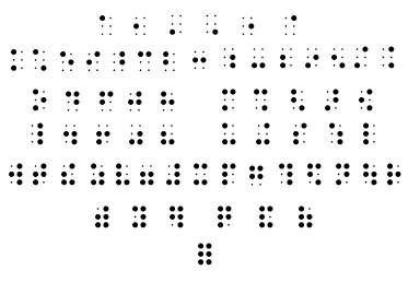 Braille Computing Information (Penn State)